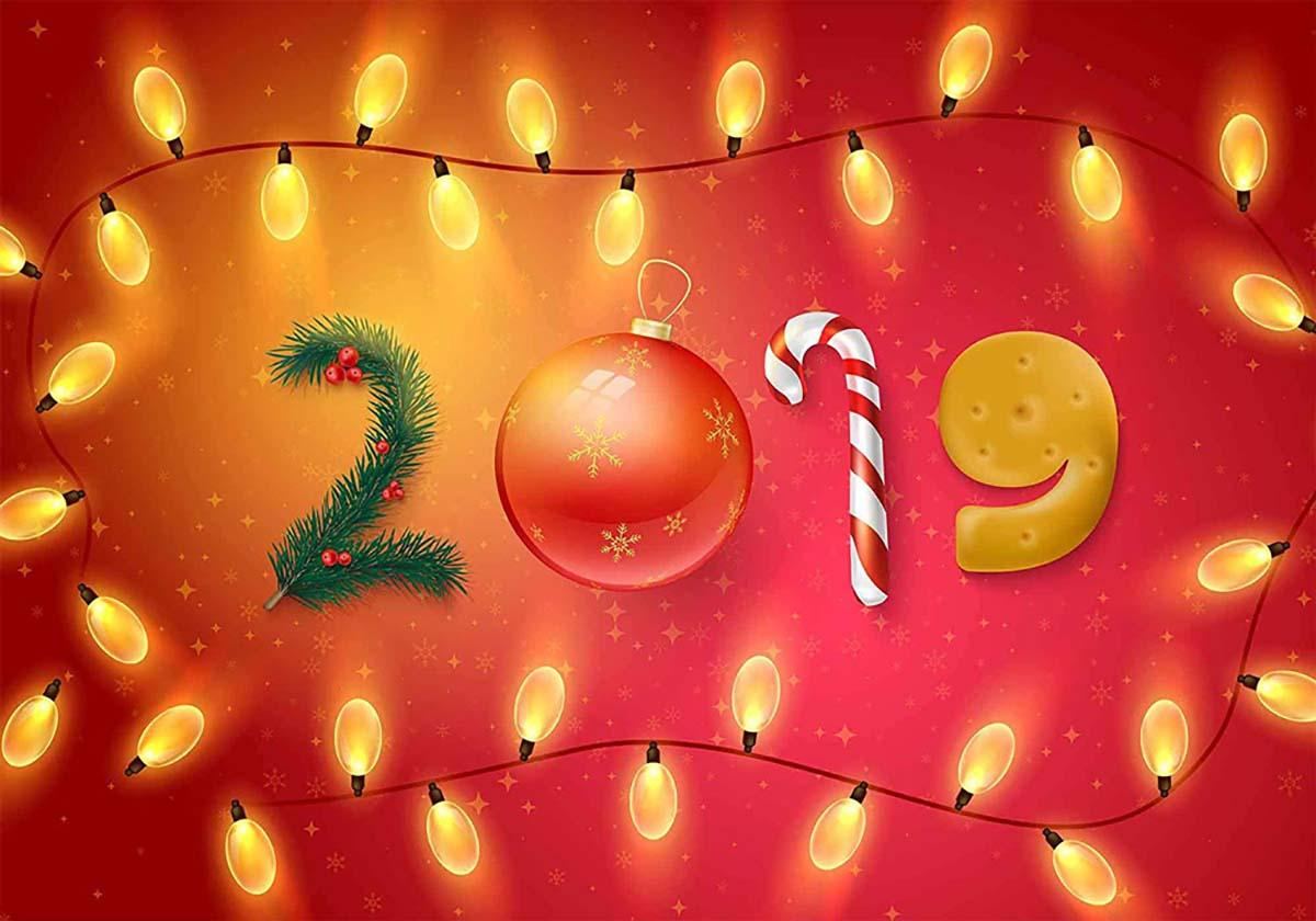 Ảnh nền chúc mừng năm mới 2019