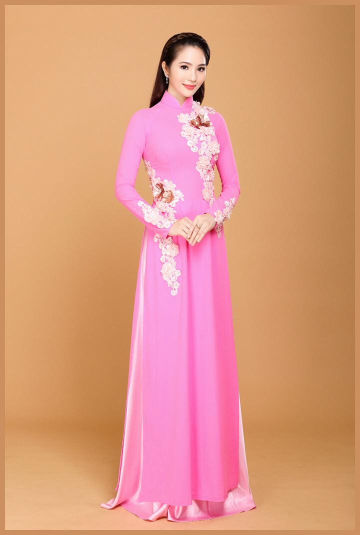 Áo dài cưới đẹp đơn giản