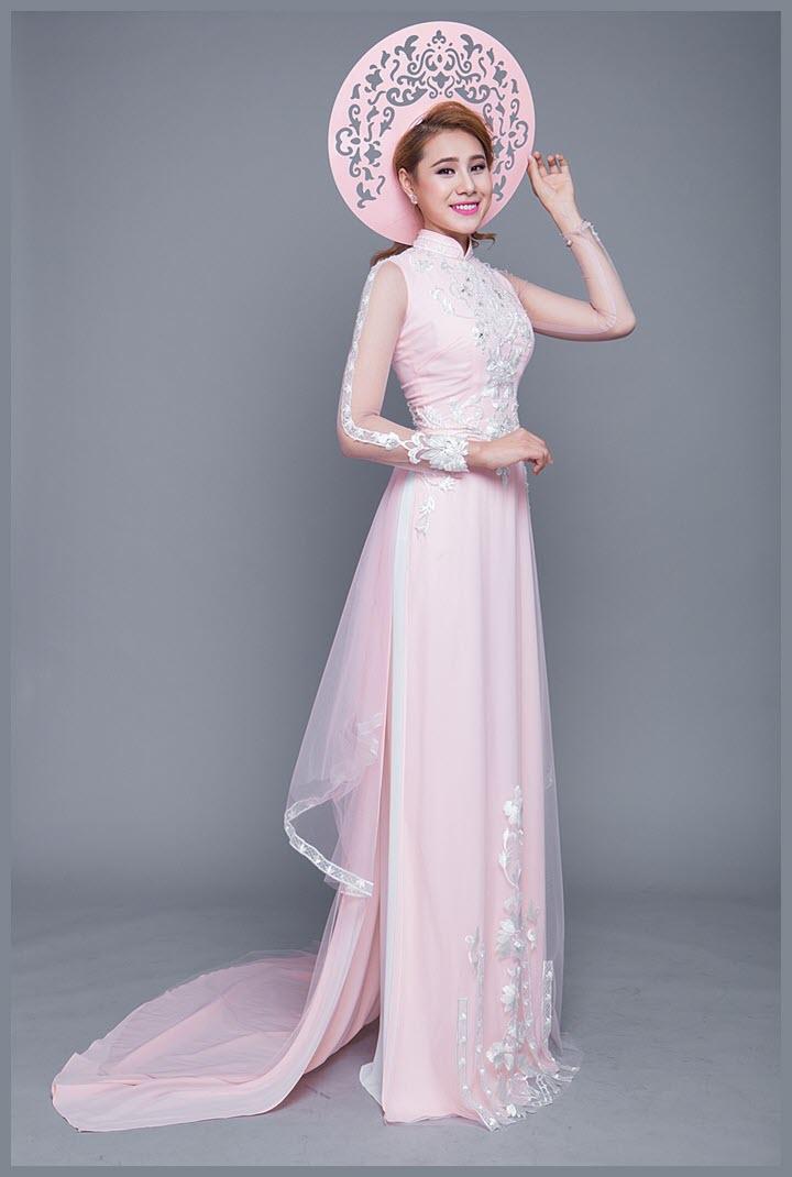 Áo dài cưới đơn giản, đẹp
