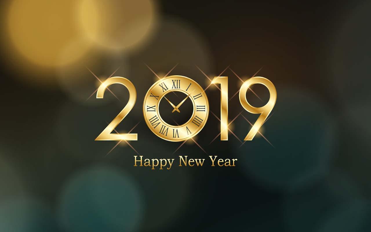 Best wallpaper happy new year 2019
