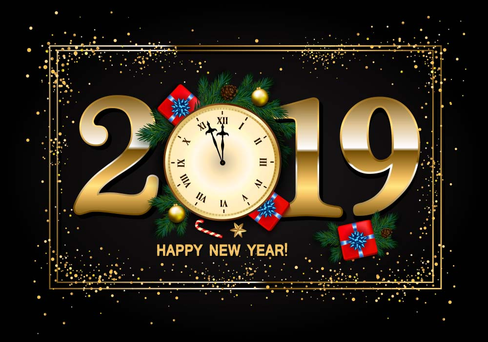 Happy new year 2019 wallpaper for pc