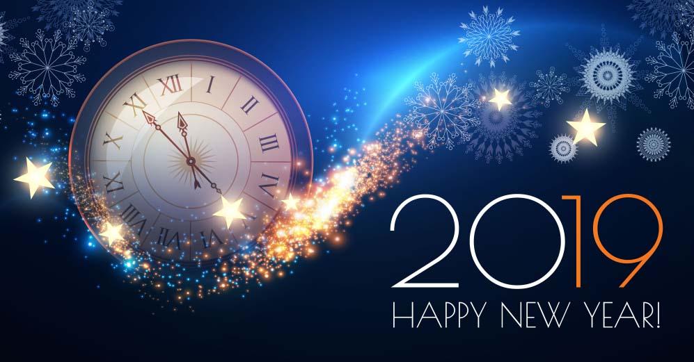 HD happy new year wallpaper