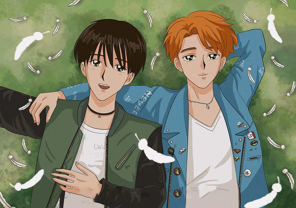 Hình ảnh bts anime đẹp và độc đáo