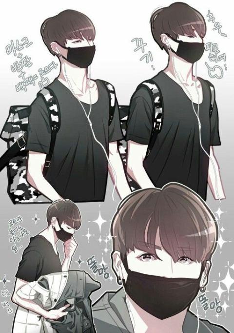 Hình ảnh bts anime suga