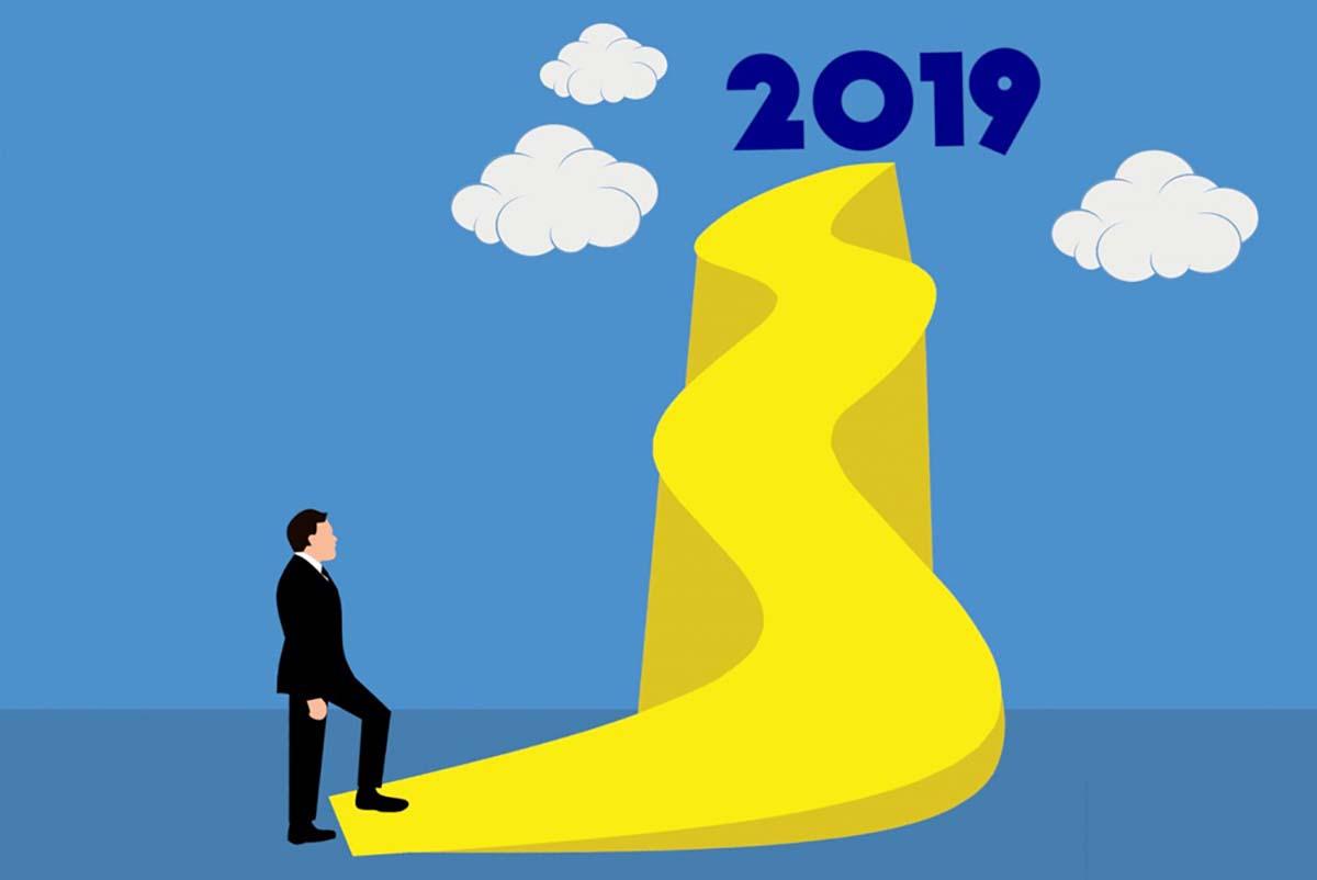 Hình ảnh chúc mừng năm mới 2019 đẹp nhất