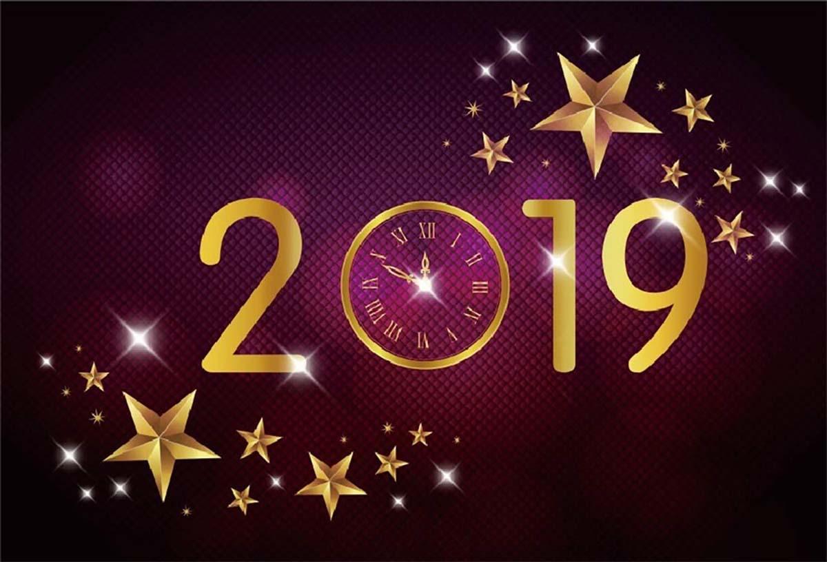 Hình ảnh chúc mừng năm mới 2019 đẹp