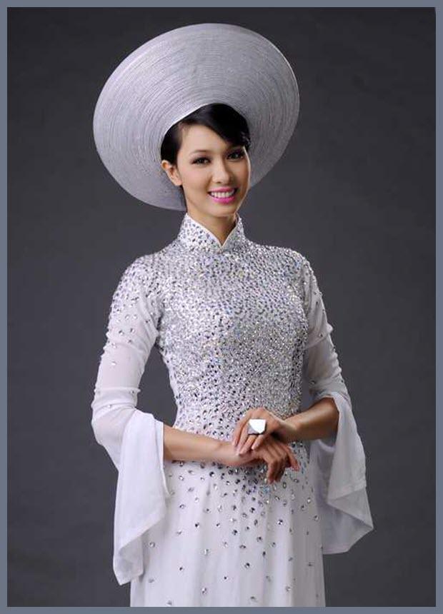 Hình áo dài cưới đẹp