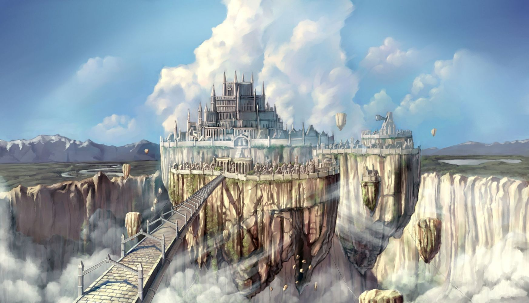 Hình nền anime phong cảnh