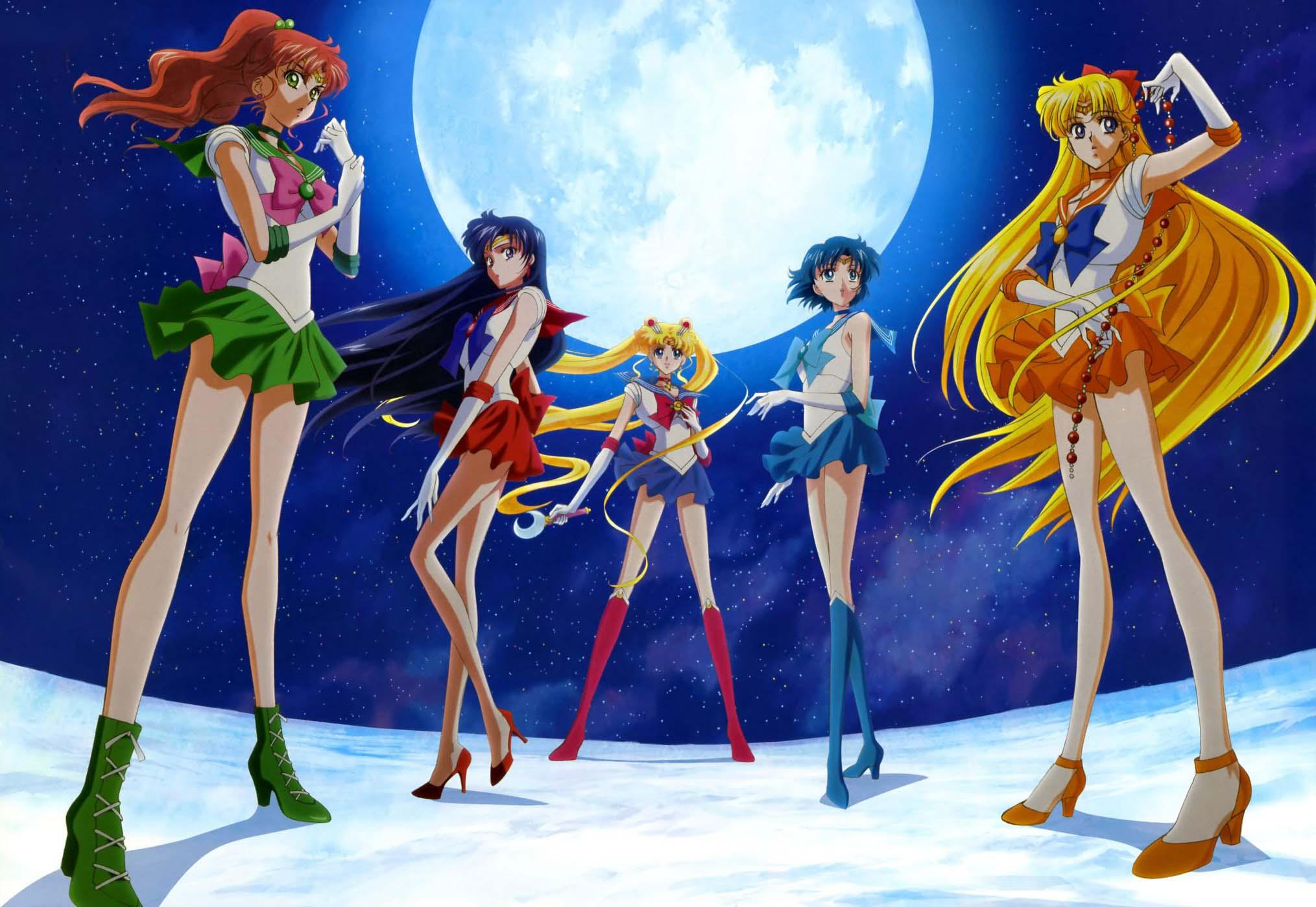 Hình nền anime thuỷ thủ mặt trăng