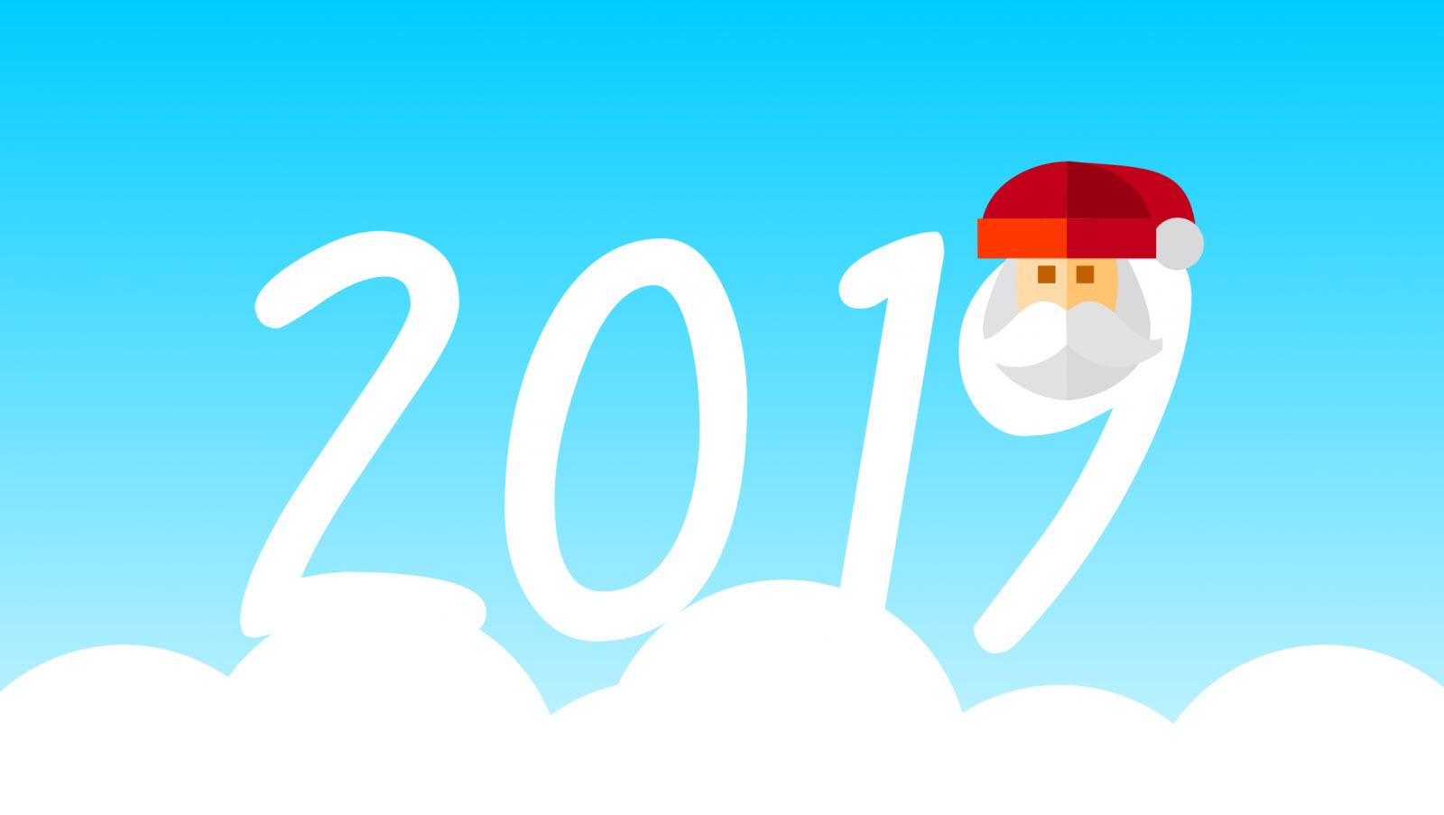 Hình nền chúc mừng năm mới 2019 đẹp