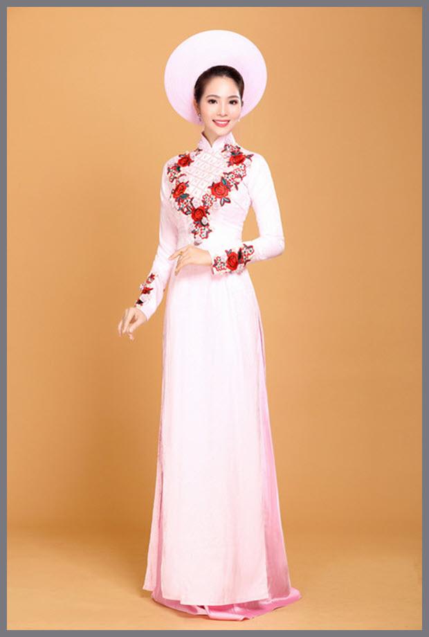 Mẫu áo dài cưới đẹp, ấn tượng