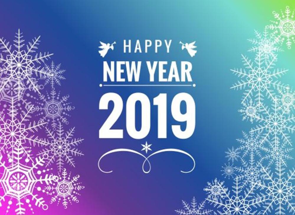 Những ảnh nền chúc mừng năm mới 2019