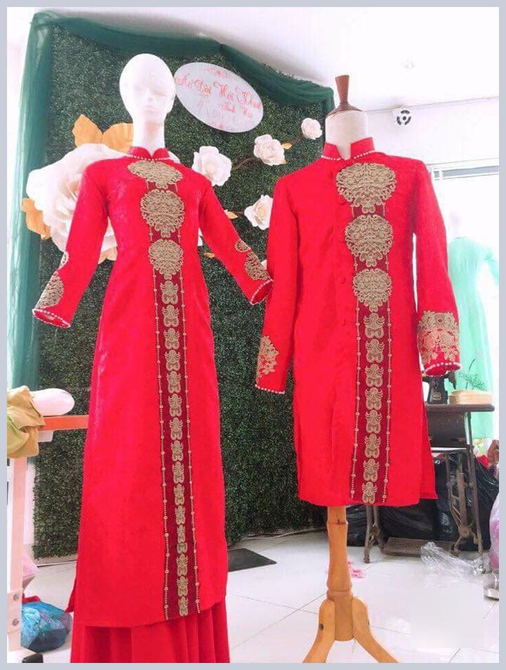 Những mẫu áo dài cưới đẹp