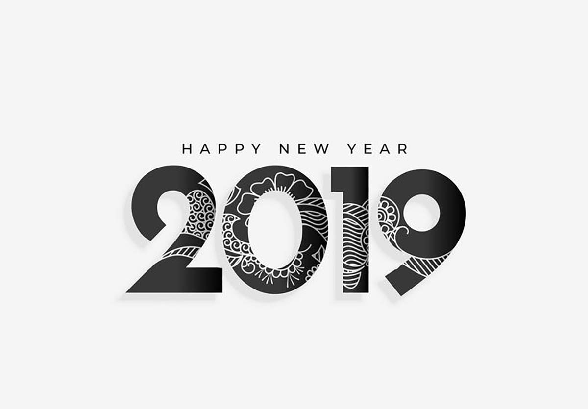 Wallpaper happy new year 2019 for pc