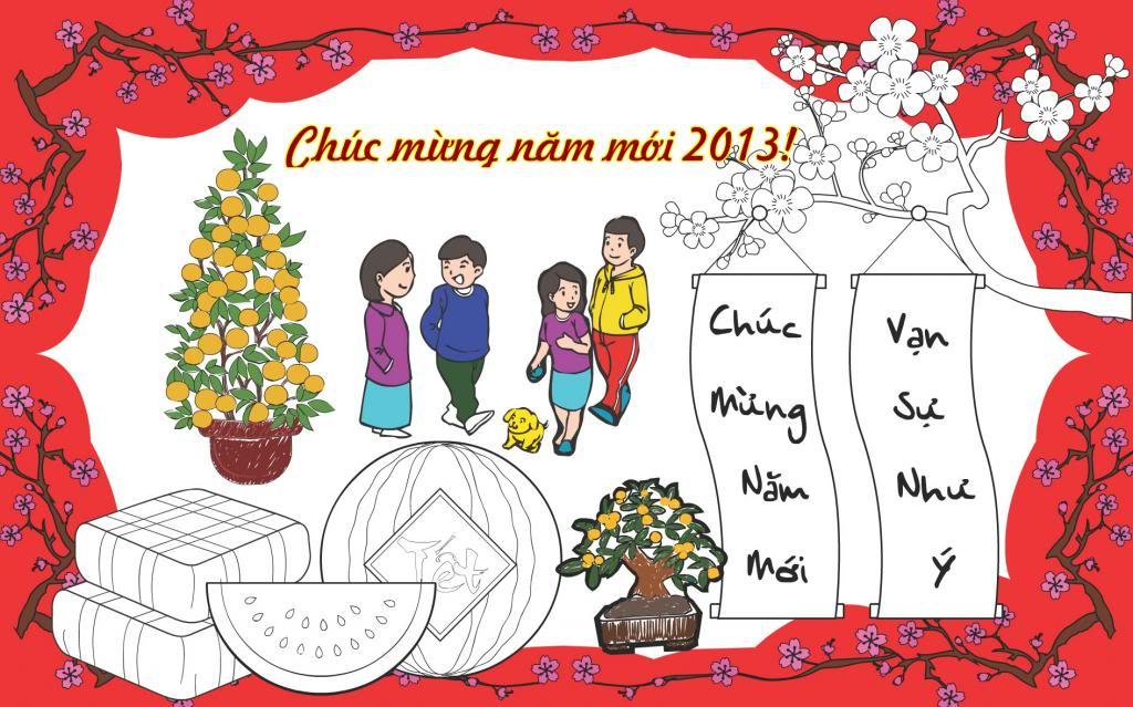 Hình ảnh thiệp mừng năm mới đẹp và ý nghĩa nhất