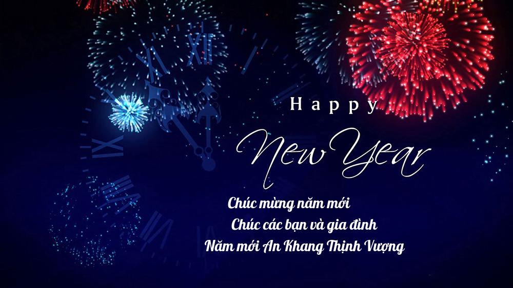 Hình ảnh thiệp mừng năm mới hay