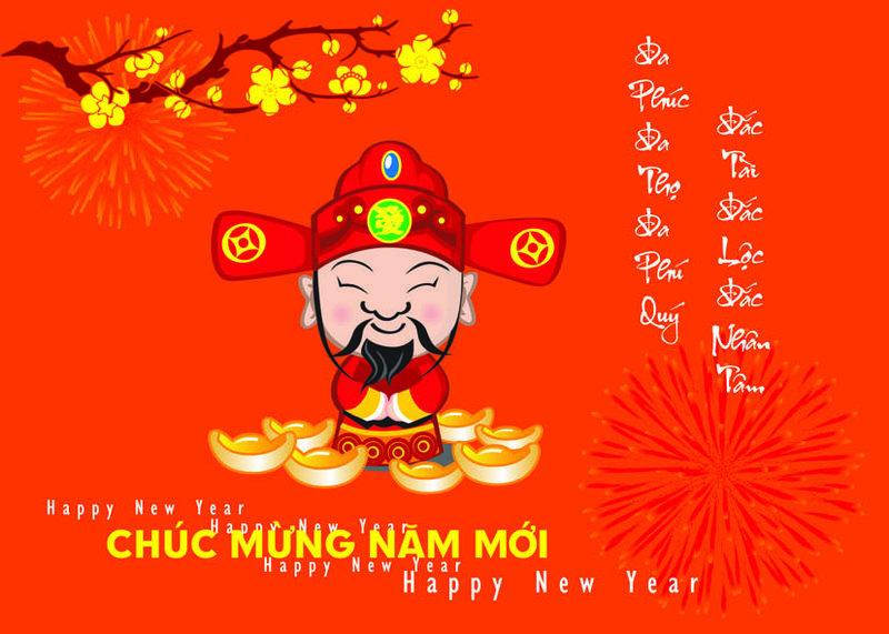 Thiệp chúc mừng năm mới ý nghĩa nhất