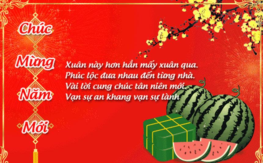 Thiệp chúc mừng năm mới ý nghĩa