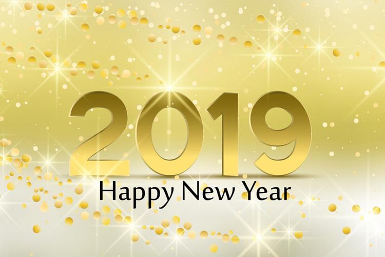 Thiệp mừng năm mới 2019 đẹp nhất