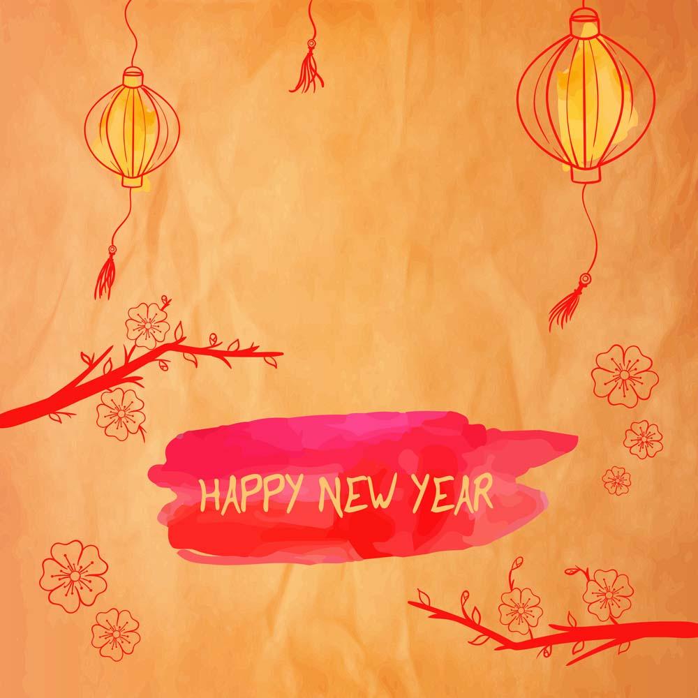 Thiệp mừng năm mới đẹp nhất