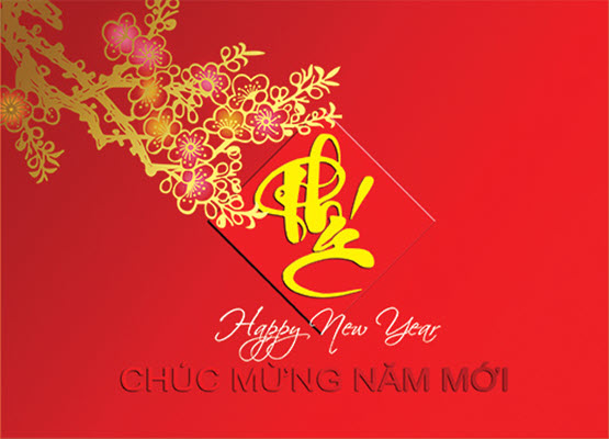 Thiệp mừng năm mới đẹp