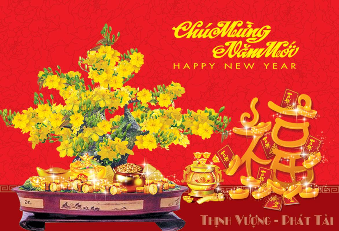 Thiệp mừng năm mới ý nghĩa