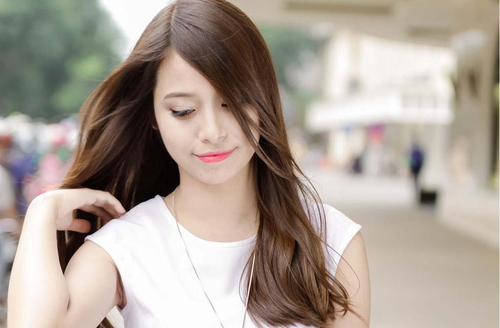 Hình ảnh tóc ngắn ngang vài mái dài