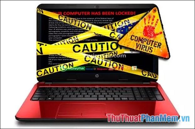 Máy tính dính Virus