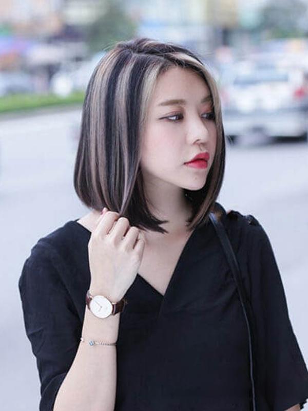 Những kiểu tóc ngang vai đẹp cho nữ
