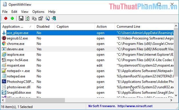 Cách xoá ứng dụng khỏi danh sách Open With trong Windows 10