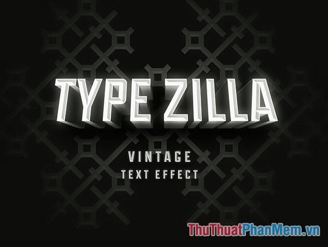Type Zilla PSD