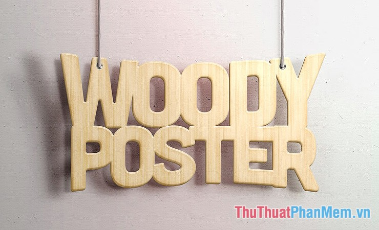 Wood Poster Text Effect