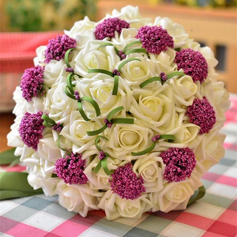 Cách bó hoa cầm tay cho cô dâu đẹp
