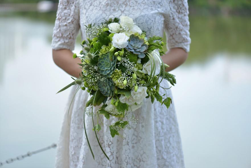 Hoa cưới cầm tay đẹp nhất cho cô dâu trong ngày cưới