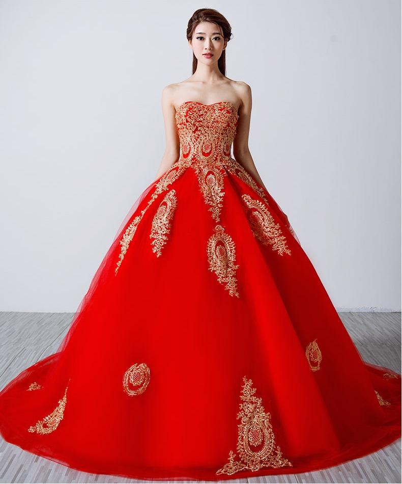Mẫu váy cưới cho cô dâu xinh và lộng lẫy nhất