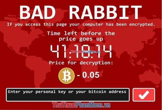 Ransomwarelà một loại virus (mã độc)