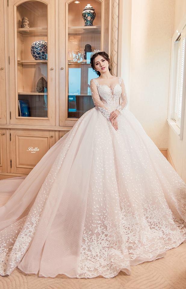Shop bán mẫu váy cưới ở Hà nội