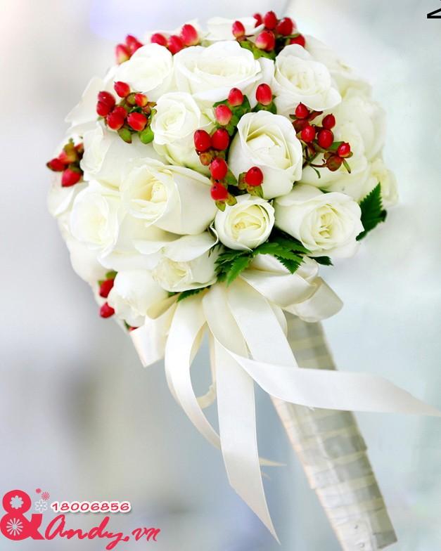 Tổng hợp những hoa cầm tay đẹp và lãng mạn cho cô dâu trong ngày cưới