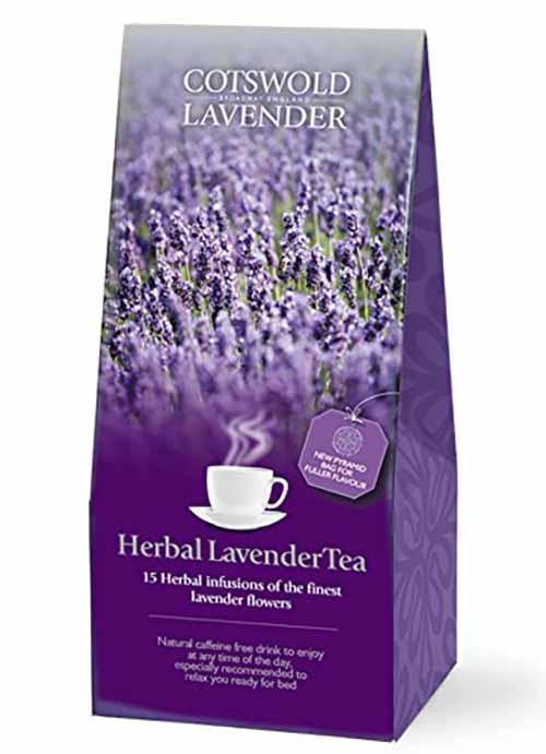 Trà được triết xuất từ hoa Lavender