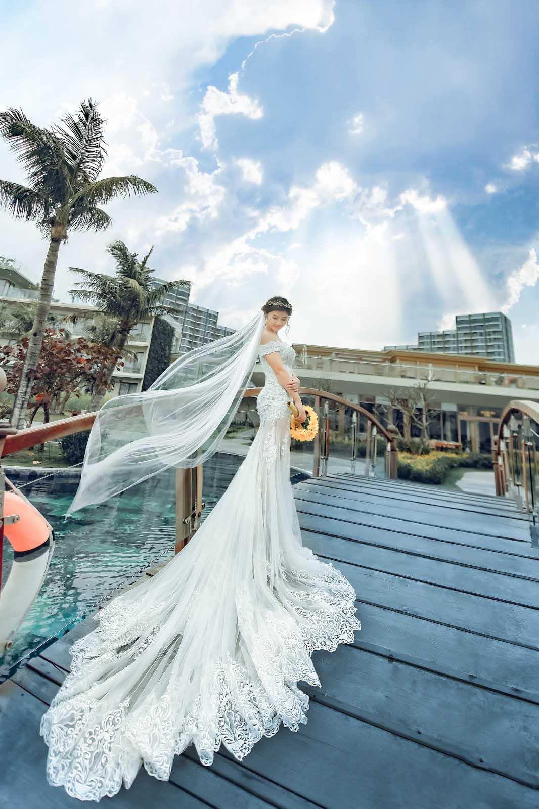 Váy cưới đẹp cho người gầy