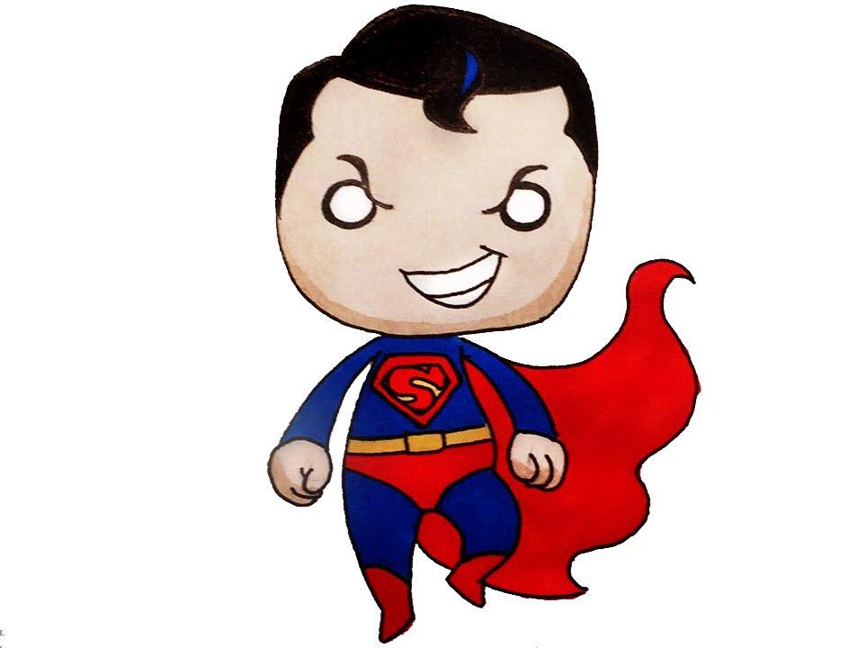 Ảnh superman chibi đáng yêu nhất