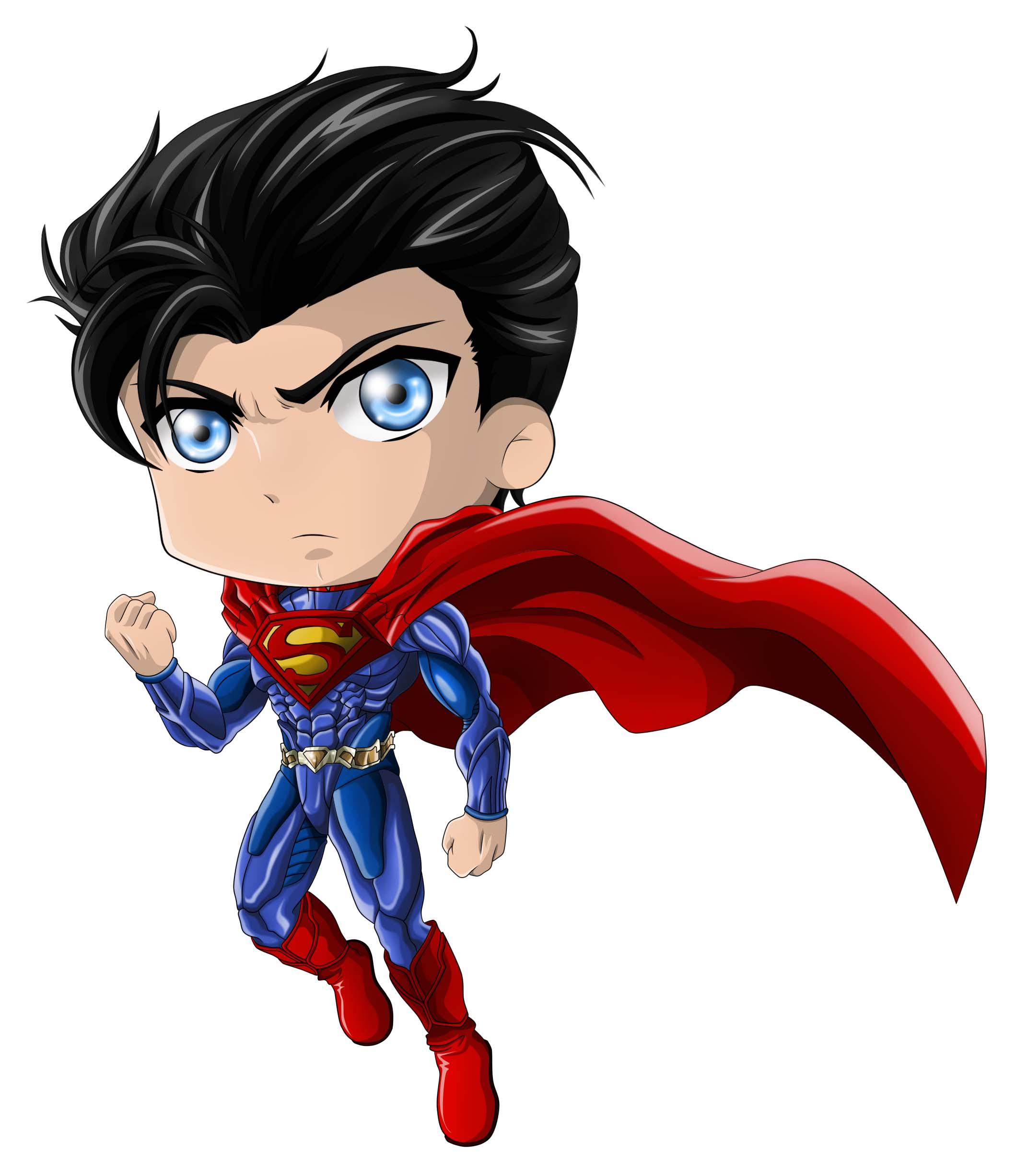 Ảnh superman chibi đáng yêu
