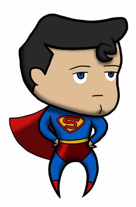 Ảnh superman chibi đẹp và độc