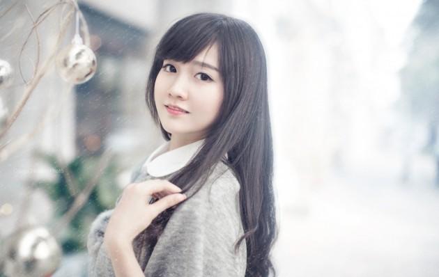 Cô gái dễ thương
