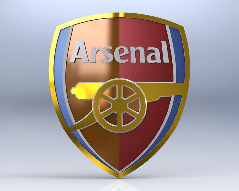 Hình ảnh logo CLB bóng đá Arsenal