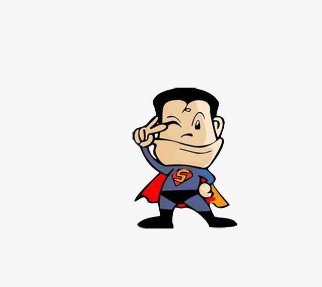 Hình ảnh superman chibi cute và đáng yêu