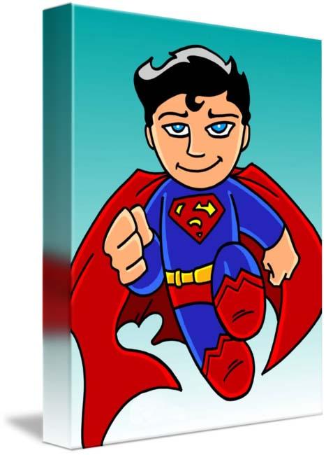 Hình ảnh superman chibi đáng yêu
