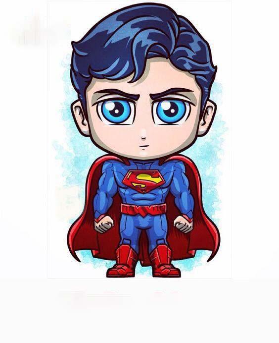 Hình ảnh superman chibi đẹp nhất