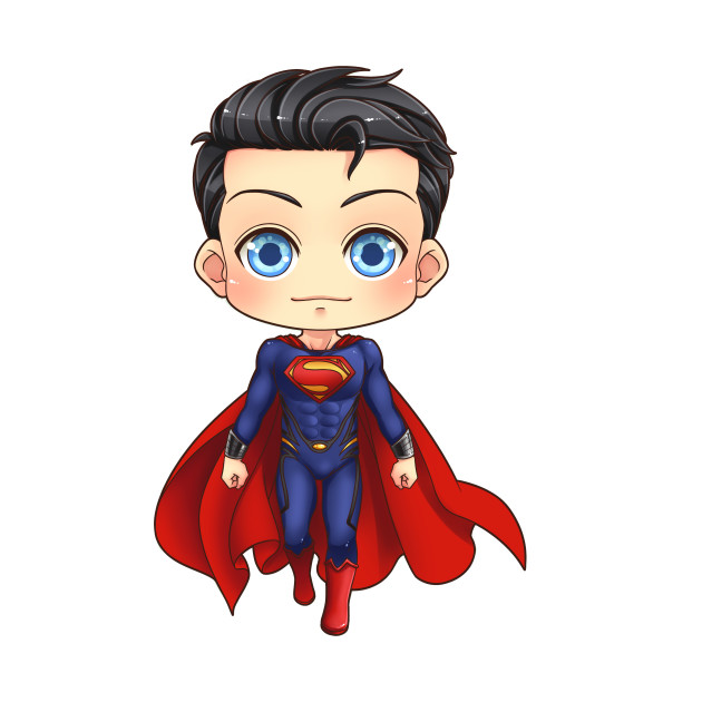 Hình ảnh superman chibi đẹp và dễ thương nhất