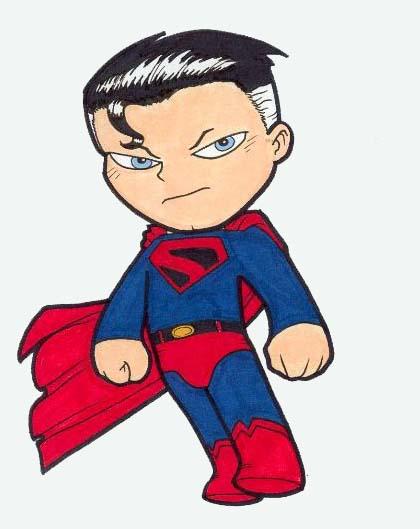 Hình ảnh superman chibi ngầu nhất
